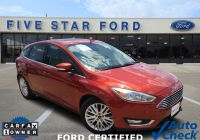 Ford Fiesta St for Sale Beautiful 2018 ford Focus Titanium