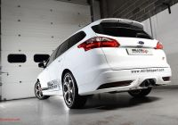 Ford Focus 2014 Lovely Milltek Exhaust with Ceramic Black Tips