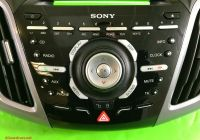 Ford Focus 2015 Best Of ford Focus Mk3 Stereo Radio Cd Control Fascia Panel Air Vents 2011 2015