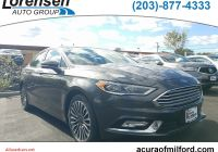 Ford Taurus Sho for Sale Elegant Pre Owned 2017 ford Fusion Se Awd