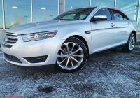 Ford Taurus Sho for Sale Inspirational 2019 ford Taurus Limited