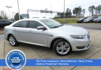 Ford Taurus Sho for Sale Lovely Pre Owned 2018 ford Taurus Sel Fwd 4dr Car