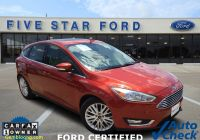 Free Carfax Report Used Cars Elegant Used Cars Pre Owned ford Vehicles