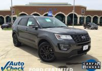Free Carfax Reports at No Cost Luxury 2017 ford Explorer Xlt