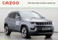 Fuccillo Used Cars Elegant Jeep Pass Used Cars for Sale In Uk On Auto Trader Uk