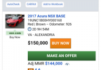 Get Carfax Report for Cheap Lovely Updated Jan 3rd socal Manheim Auction Results F Ramp