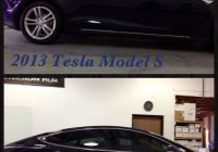 Gold Tesla Best Of 2013 Tesla Model S Golden State Auto Care™ Added Suntek