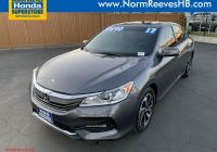 Honda Certified Pre Owned New Certified Pre Owned 2017 Honda Accord Sedan Ex L V6 Fwd 4dr Car
