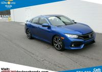 Honda Civic Si for Sale New Certified Pre Owned 2018 Honda Civic Si Sedan Si Fwd