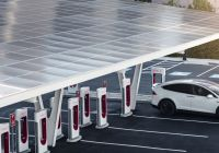 How Long Does It Take to Charge A Tesla Car Awesome Tesla Supercharger V3 Futuristic Station is Final Piece Of