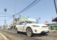 How Many Tesla Cars are On the Road New Tesla Model X [replace] [unlocked] Gta5 Mods