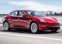 How Much Tesla Model 3 Cost New 2018 Tesla Model 3 Dual Motor Performance Quick Test Review