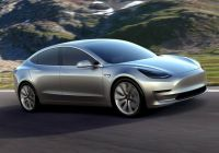 How Much Tesla Model S Inspirational Volt Architect Says the Model 3 Can T Break even at $35 000