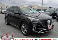 Hyundai Santa Fe 2015 Fresh Certified 2019 Hyundai Santa Fe Xl Limited Ultimate Fwd