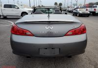 Infiniti G37 for Sale Fresh Used 2011 Infiniti G37 Convertible Base