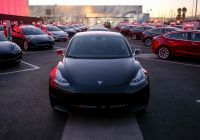 Is Tesla American Made Beautiful Tesla Pushes Delivery Timeline for New Standard Model 3