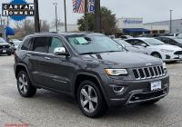 Jeep Srt for Sale Luxury Pre Owned 2016 Jeep Grand Cherokee Overland Rwd Sport Utility