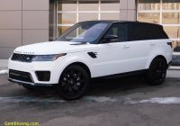 Land Rover Range Rover Sport Hse Inspirational New 2020 Land Rover Range Rover Sport Hse with Navigation & 4wd
