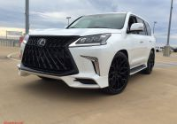 "Lexus 460 Fresh 2019 Lexus Lx570 24"" Gloss Black Vossen Hf 2 Wheels Wrapped"