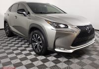 Lexus Certified Pre Owned Inspirational Certified Pre Owned 2017 Lexus Nx 200t F Sport Awd