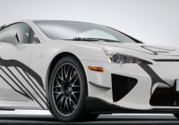 Lexus Lfa for Sale Inspirational Lexus Lfa Art Car Marks Ten Years Of F Performance