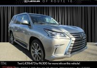 Lexus Lx 570 for Sale Luxury New 2020 Lexus Lx 570 Three Row