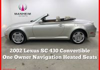 Lexus Sc430 for Sale Elegant 2002 Lexus Sc 430 Convertible