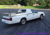 Lincoln Truck Luxury 1996 Lincoln Continental town Car Flower Car by Mcclain