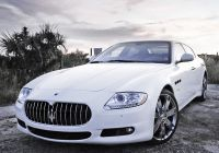 Maserati Gran Sport Luxury Maserati Quattroporte Feels Large Lots Of Room Really