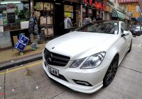 Mercedes Benz E500 Fresh Mercedes E Coupe Tuned by Carlsson with Amazing Wheels Seen In Hong Kong