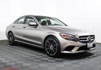 Mercedes Benz Pre Owned Fresh Certified Pre Owned 2019 Mercedes Benz C Class C 300 Rwd Sedan