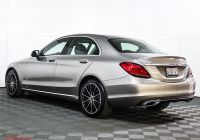 Mercedes Benz Pre Owned Inspirational Certified Pre Owned 2019 Mercedes Benz C Class C 300 Rwd Sedan