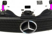 Mercedes Benz Slk Luxury Mercedes Benz Slk 230 Grille and Radiator Panel Replacement