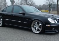 Mercedes Pre Owned Awesome W211 E55amg with Mecxtremeiii 3pc Wheels and Excluvie