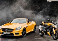 Mercedes Slk Beautiful Mercedes Benz Slk55 Amg and Ducati Streetfighter 848 Wallpaper