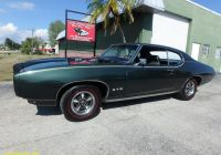 Muscle Cars for Sale Fresh Used 1969 Pontiac Gto for Sale $24 900
