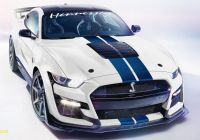 Mustang 2020 Awesome Hennessey S 2020 Mustang Shelby Gt500 Makes 1 200 Hp