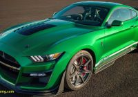 Mustang 2020 Beautiful 2020 Shelby Gt500 Vin 001 Shines In Extended Gallery Video