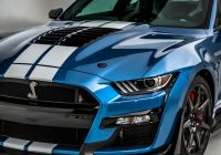 Mustang 2020 Best Of 2020 ford Mustang Shelby Gt500 is A Friendlier Brawler