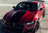 Mustang 2020 Elegant New 2020 ford Mustang Shelby Gt500 Red Front