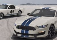 Mustang 2020 Luxury 2020 ford Mustang Shelby Gt350 Heritage Edition A Repeat We