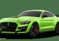 Mustang 2020 Luxury 2020 ford Mustang Shelby Gt500 Exterior Color Options