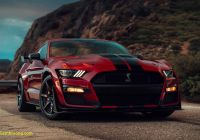 Mustang 2020 Luxury 2020 ford Mustang Shelby Gt500 is Downright Mean