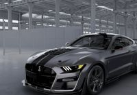 Mustang 2020 Luxury ford Creates One Off 2020 Mustang Shelby Gt500