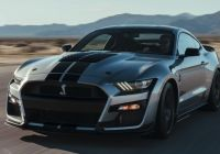 Mustang 2020 Luxury the 2020 ford Mustang Shelby Gt500 is the Brand S Most