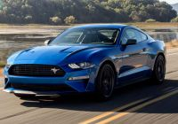 Mustang 2020 New 2020 ford Mustang Ecoboost Be Es A Legitimate Performance Car
