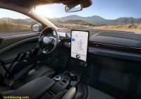 Mustang Mach E Awesome ford Sync 4 First Look Mustang Mach E High Tech Dashboard