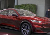 Mustang Mach E Awesome ford Unveils Battery Electric Mustang Mach E Crossover Suv
