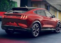 Mustang Mach E Awesome ford Unveils Mustang Mach E Electric Sport Utility Vehicle