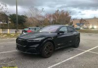Mustang Mach E Best Of Updated Black Mach E Spotted In Florida Exterior and
